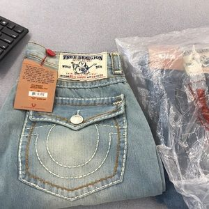 Men's jeans true religion size 34/33